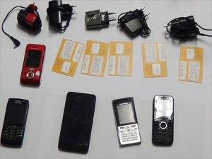 До сидельцев клинцовской колонии ИК-6 не долетело девять телефонов за один день