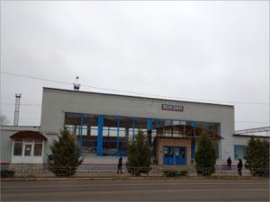 В Брянске реконструируется здание железнодорожного вокзала