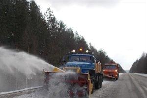 Автомобильные дороги Брянской области переводятся на зимний режим