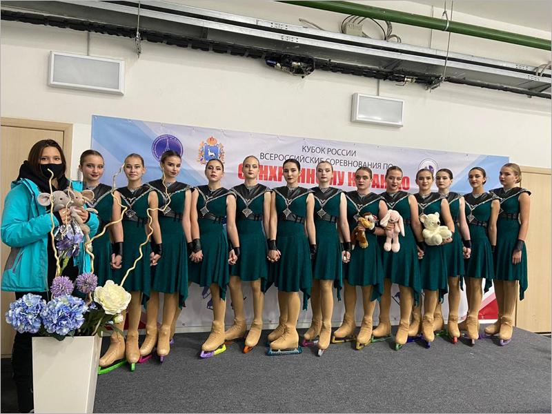 Брянские фигуристки успешно выступили на всероссийском турнире в Тольятти