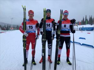 Брянский лыжник выиграл спринт на этапе Кубка России
