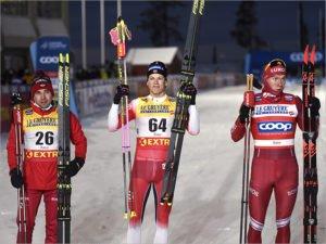 Александр Большунов открыл счёт медалям на Кубке мира. Но не золотым