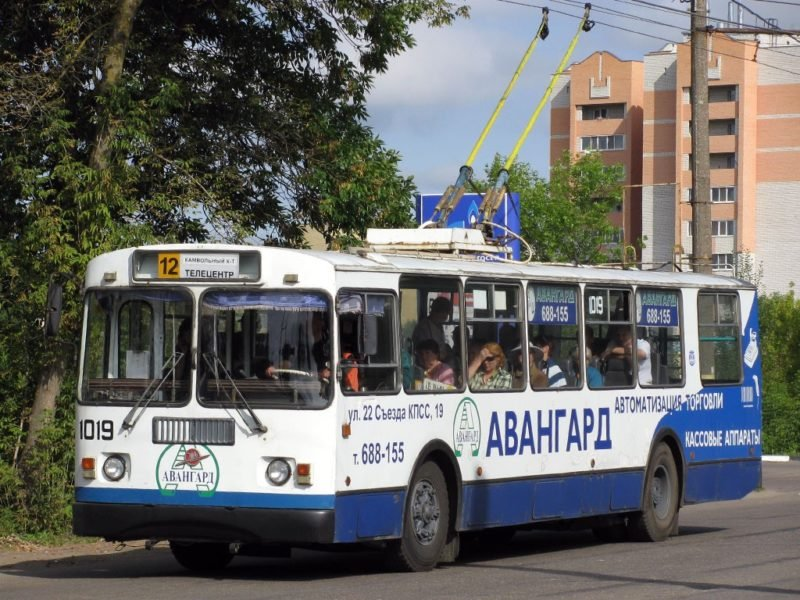 В Брянске актуализировали схему городских троллейбусных маршрутов