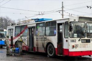 Брянская прокуратура увидела, что в городе есть троллейбусы. И потребовала их отремонтировать