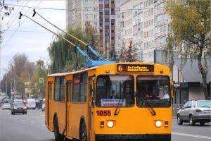 В Брянске скорректировали расписание троллейбусов №№ 1 и 6