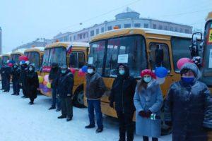 Школьный автобусный парк Брянской области пополнился на 27 автобусов