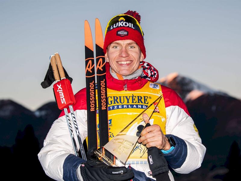 Александр Большунов примет участие в «Тур де Ски» в новом году