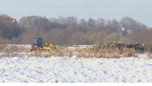 В Брянске начались масштабные работы по расчистке русла Десны