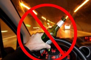 С Рождества и до конца каникул в Брянской области поймали более 30 нетрезвых водителей
