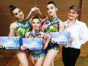 Брянские акробатки стали вторыми на всероссийских соревнованиях в Орле