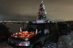 Власти Брянска в новогоднюю ночь закроют дороги «у ёлок» для движения транспорта