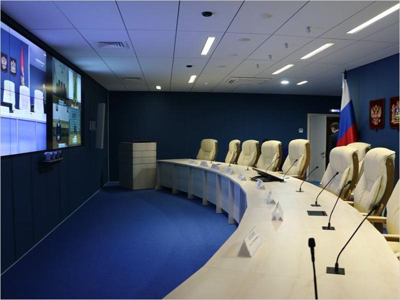 В центре Брянска открылся губернаторский ситуационный центр