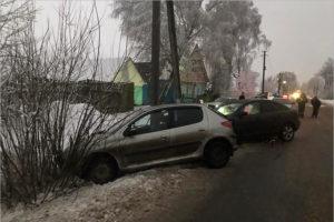 Маленькая девочка и 19-летняя девушка получили травмы в ДТП в Клинцовском районе