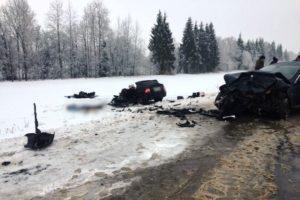Смертельное ДТП под Трубчевском: женщина на Jaguar убила водителя «Приоры». И едва не убила его детей