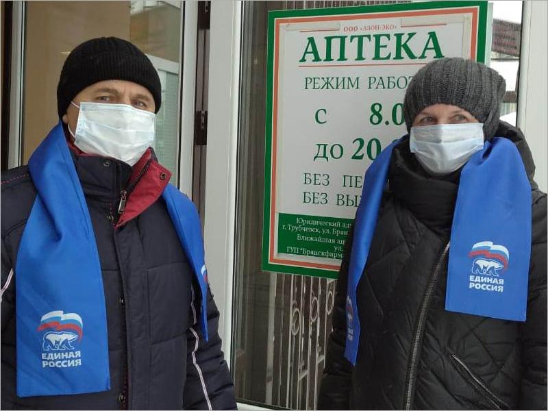 «Народный контроль» проверил в Клетнянском районе доступность лекарственных средств