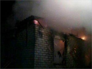 В ночном пожаре на хуторе под Жуковкой погибли двое братьев