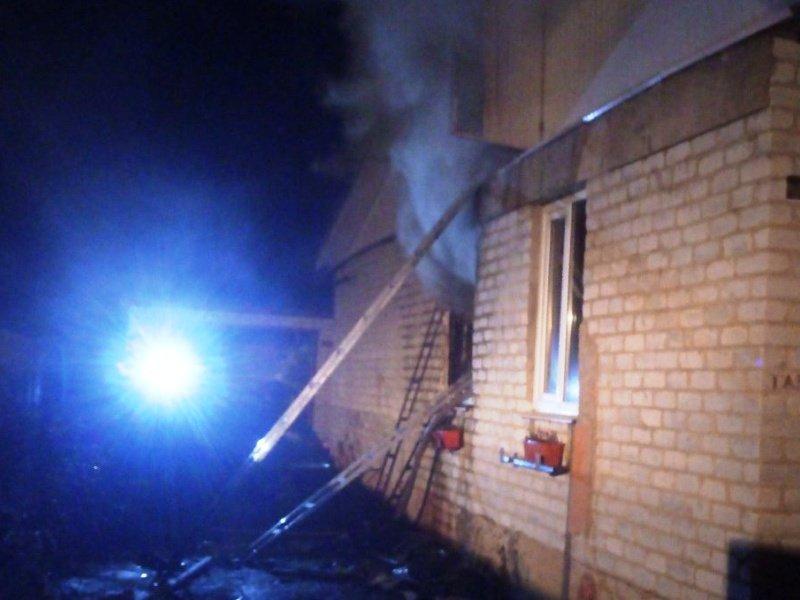 В Клинцовском районе сгорел жилой дом: погибли двое мужчин