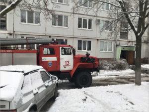 Жертвой пожара в квартире в Бежице стал один человек