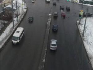 На Городищенском повороте изменяется схема движения на выезд из Бежицы