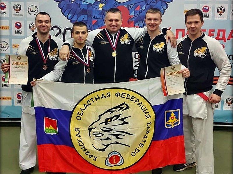 Брянские спортсмены собрали «чертову дюжину» наград на первенстве и Кубке России по всестилевому каратэ
