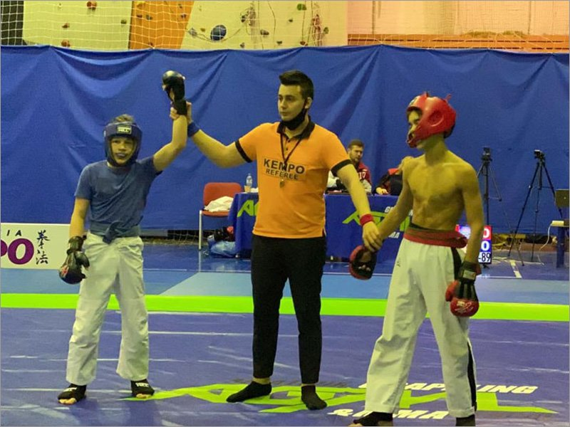 Боец из Новозыбкова стал чемпионом мира в 14 лет