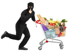 В Брянске были задержаны сразу два магазинных вора