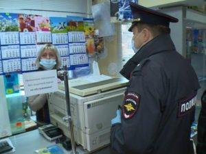В Брянске продолжаются ежедневные «походы за безмасочниками»