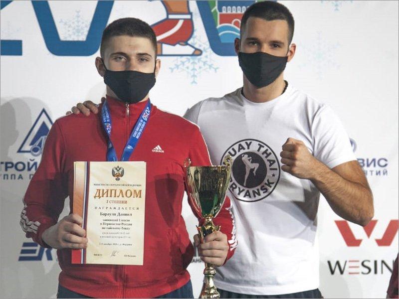 Брянские юниоры привезли две медали первенства страны по тайскому боксу