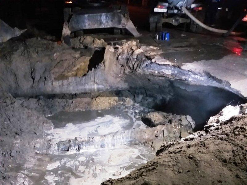 Брянский город Новозыбков на двое суток остался без водоснабжения из-за коммунальной аварии
