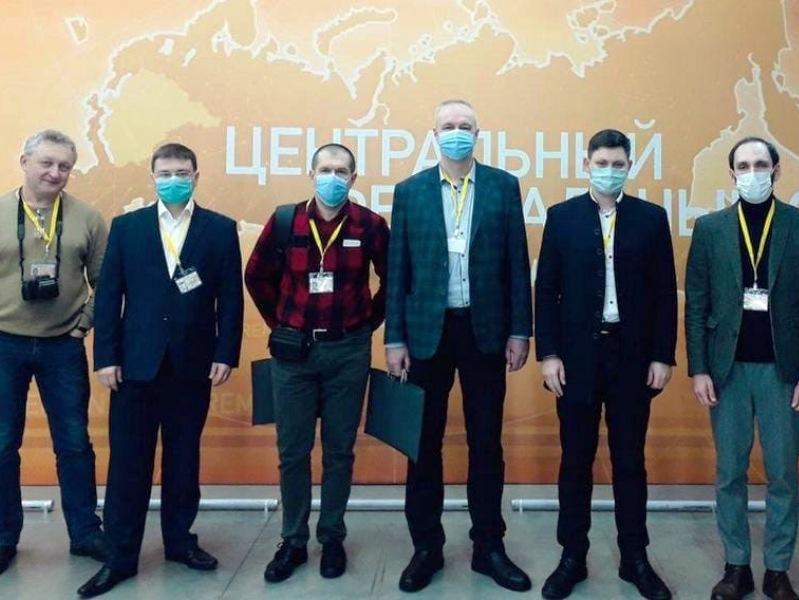 Брянские журналисты прибыли на тульскую площадку пресс-конференции Владимира Путина