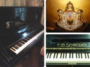 Жительница Брянска подарила пианино для будущего музея князя Михаила Романова