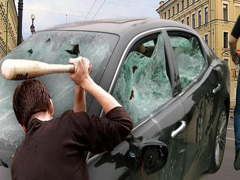 Молодой дебошир из Брянска ответит за разбитое такси