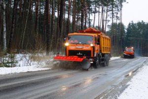 Брянские дорожные службы будут работать на новогодних каникулах в обычном режиме