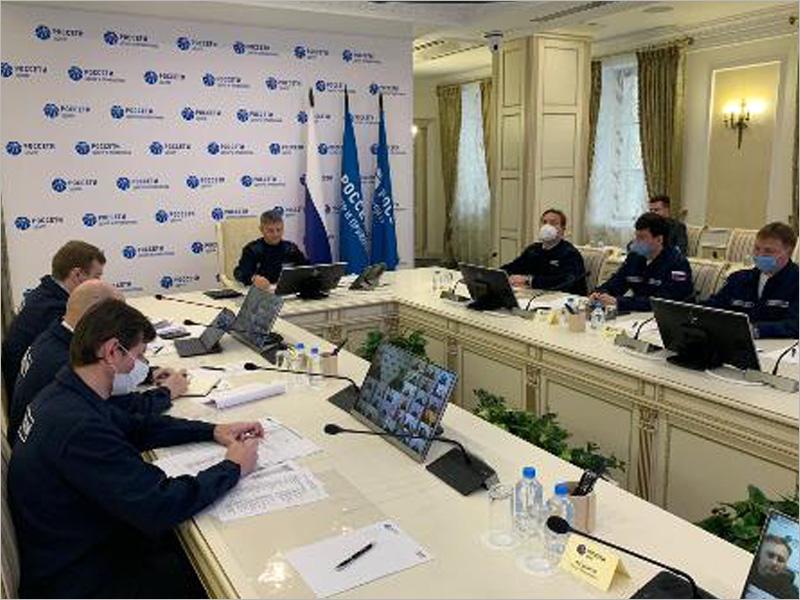 Гендиректор компании «Россети Центр» провёл заседание Штаба в связи с неблагоприятными погодными условиями
