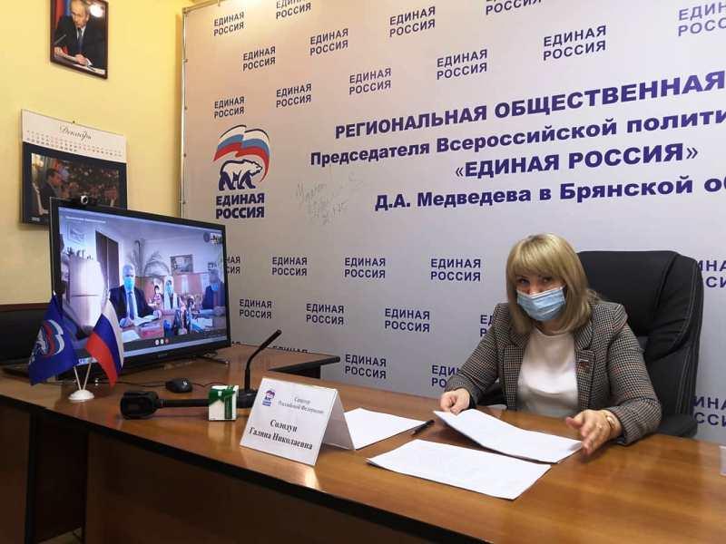 Сенатор от Брянской области выслушала обращения от жителей приграничных районов
