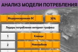 Клинцы признаны лидером потребления интернет-трафика в Брянской области