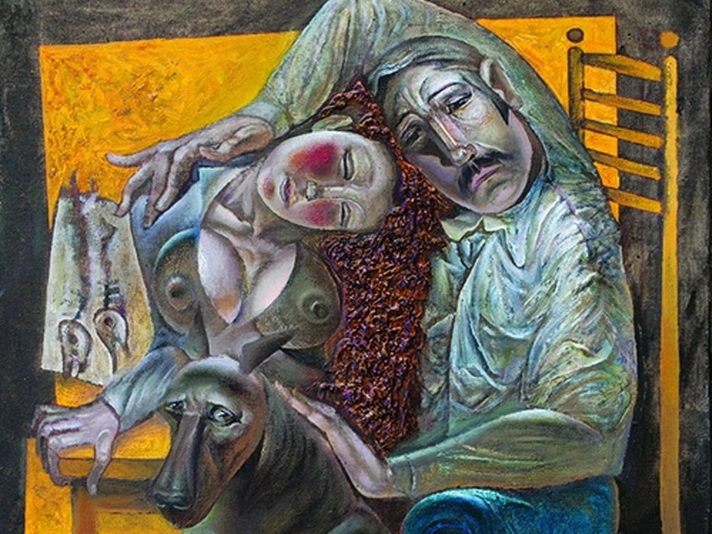 В Брянске открывается персональная выставка Владимира Бурдина «Сопричастность бытию»