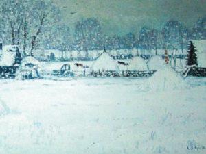 В тютчевском музее-заповеднике Василий Лаворько покажет свой «Зимний Овстуг»