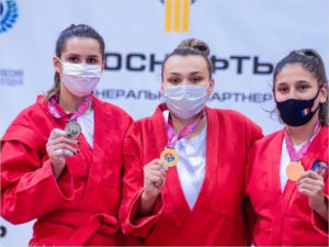 Брянская самбистка завоевала золото Кубка мира