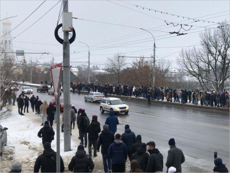 Брянские «навальнисты» официально анонсировали свою новую акцию 31 января