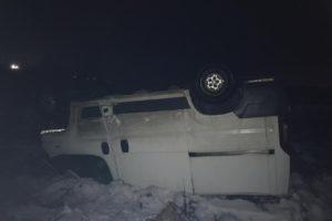 В Брянске на Бурова пьяный водитель улетел в кювет. Пострадавший госпитализирован