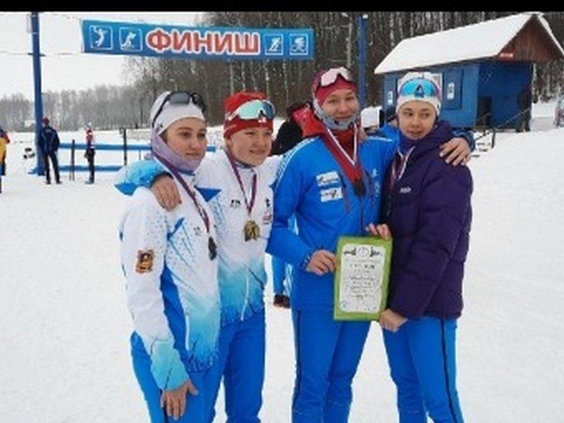 Брянские лыжники достойно выступили на чемпионате и первенстве ЦФО