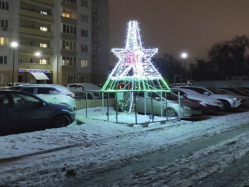 В Советском районе подвели итоги конкурса на самый новогодний двор