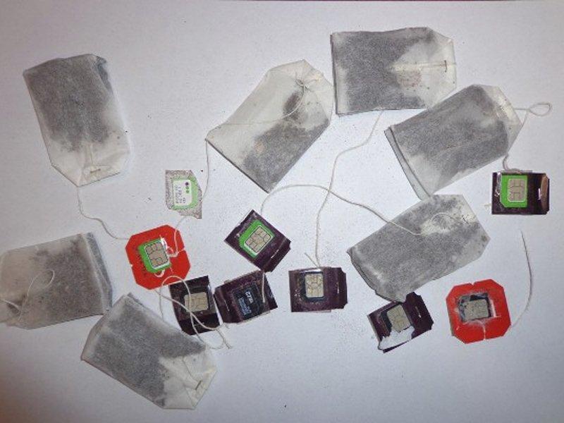 Посетительница брянской колонии доставила сидельцу чайные пакетики «со связью»