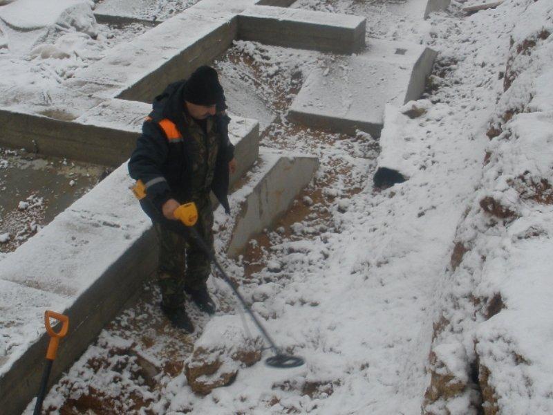 В Клинцах на стройплощадке обезвредили военную мину