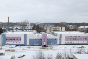 В Бежице продолжается строительство спорткомплекса с двумя бассейнами