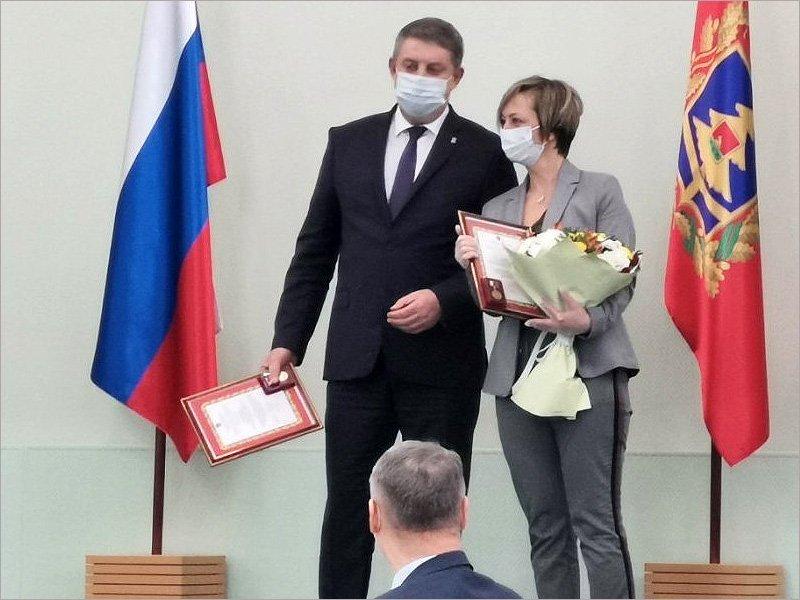 Брянскую традицию награждать журналистов в День российской печати не сломал даже коронавирус