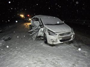 Пятеро детей оказались в больнице после ДТП на брянской дороге. Одна из девочек в тяжёлом состоянии