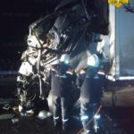 В столкновении двух большегрузов под Выгоничами погиб дальнобойщик