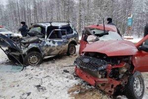 В лобовом ДТП под Карачевом погибла 53-летняя женщина-водитель